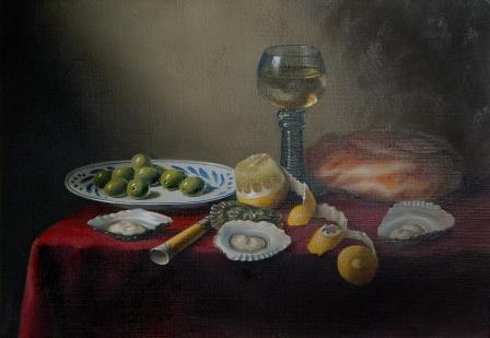 Brian Davies Painting