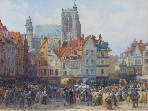 Samuel Hodson Watercolour