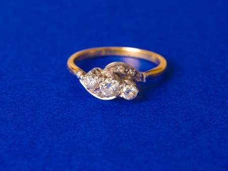 18ct Gold Dress Ring