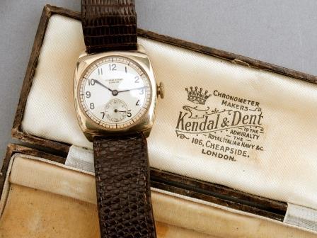 Gent's Gold Wrist Watch