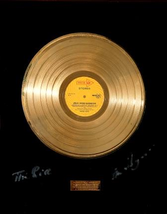 Record Gold Disc