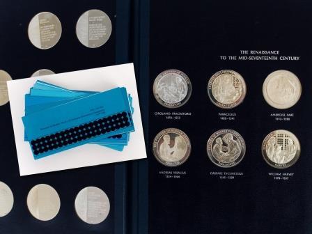 Set Silver Commemorative Medals
