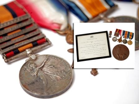 Boer and First World War Medal Group
