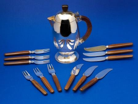 Silver Fish Knives and Forks