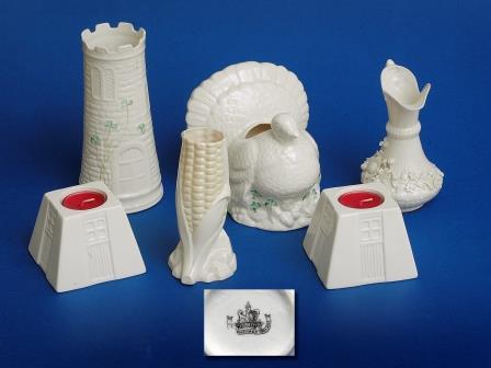Belleek Porcelain Objects