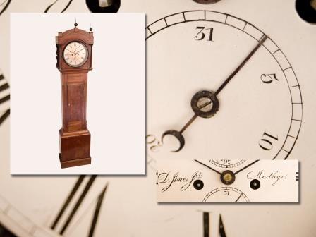 Mahogany Longcase Clock