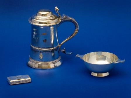 George III Silver Tankard