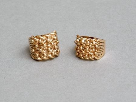 9ct Chunky Gold Dress Ring