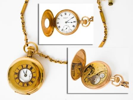 Gent's Gold Plated Pocket Watch