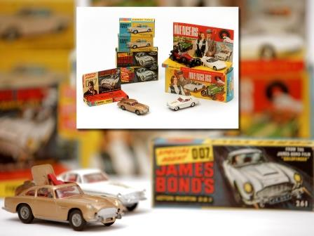 Corgi and Dinky Toy Vehicles