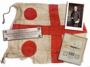 Battle of Jutland Flag Reaches Terra Firma