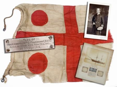 First World War Rear Admiral's Flag