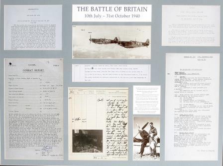 Battle of Britain Memorial Panel