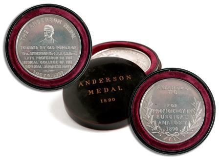 A Silver Presentation Medallion