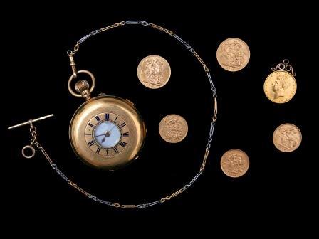 Gentleman's 18ct Gold Pocket Watch