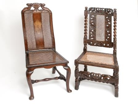 Charles II Oak Hall Chair