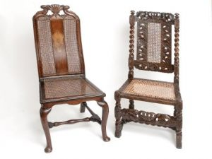 Early 19th Century Dutch Hall Chair