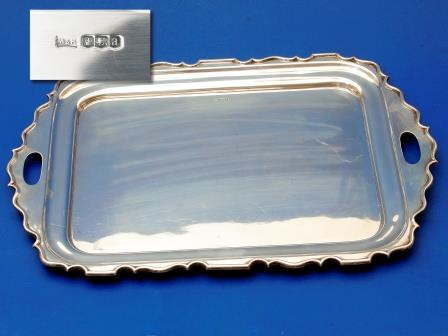 Silver Tray 1918
