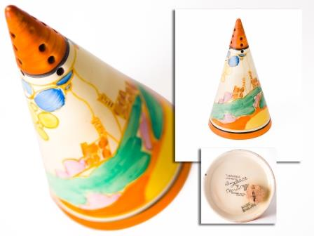 Clarice Cliff Sugar Sifter