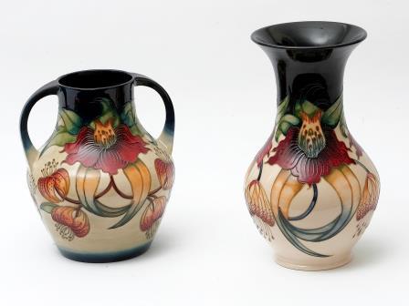 Moorcroft Two Handled Vase