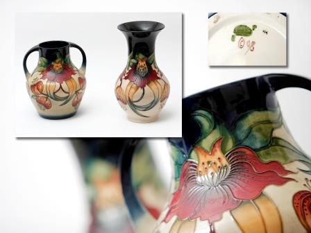 Moorcroft Waisted Vase
