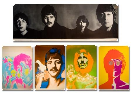 Portrait Posters of The Beatles
