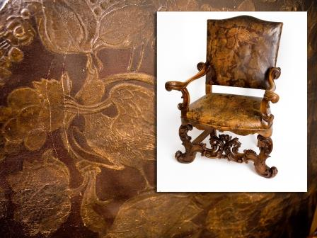 17th Century Style Elbow Chair