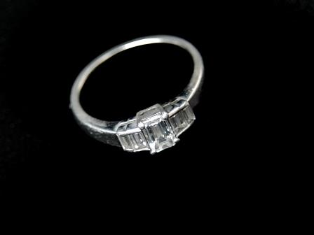 Platinum Dress Ring