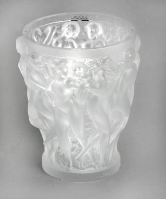 Lalique Bachantes Pattern Vase