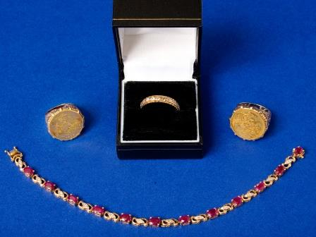 Gem Set and Decorative Jewellery