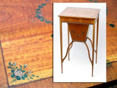 Satinwood Work Table