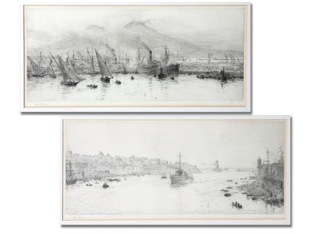 William Lionel Wyllie Etchings