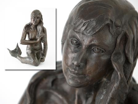 Bronze of Memaid