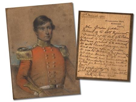 Portrait of John Gordon Geddes