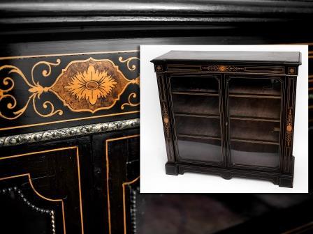 Victorian Ebonised Cabinet