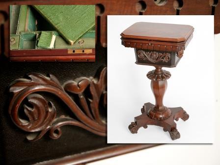 Victorian Mahogany Work Table