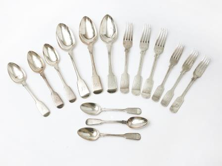 Mixed Collection of Hallmarked Silver Flatware