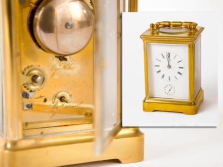 Gilt-Brass Carriage Clock
