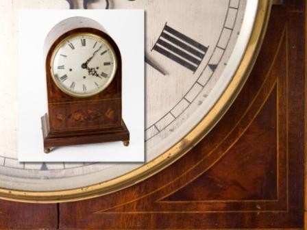 Edwardian Mantel Clock
