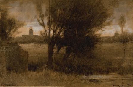 Albert Goodwin Watercolour