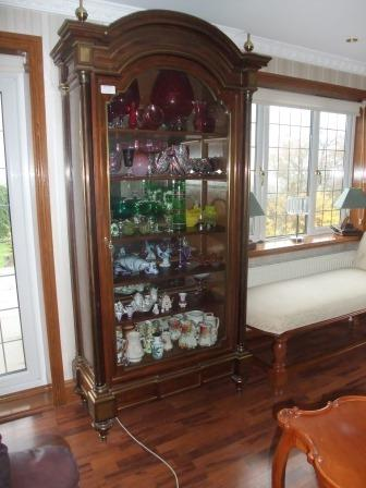 Pair of Late French Display Cabinets
