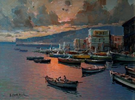 Fortunata Fontana Oil Painting.