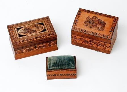 Tunbridge Ware Boxes.