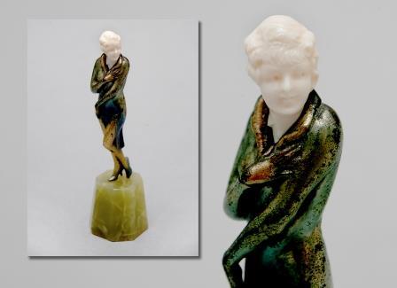 A Joseph Lorenzl Figure.