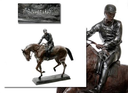 Bonheur Equestrian Bronze.