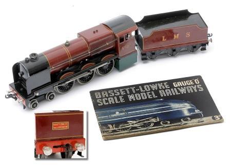 Bassett-Lowke 'O' Guage Locomotive.