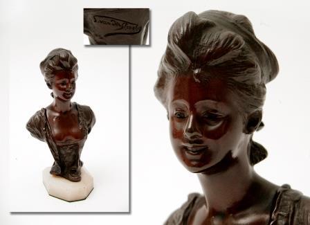 Small Bronze Bust.