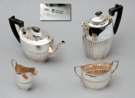 George V Silver Tea-Set.