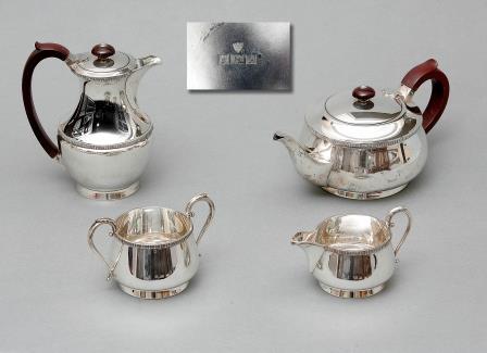 An Elizabeth II Silver Tea-Set.