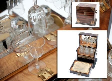 A Coromandel tantalus/Games Box.